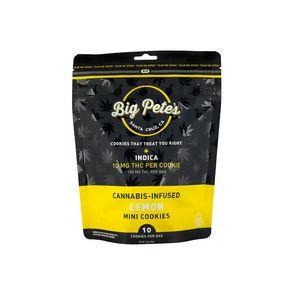 [Big Petes Treats] Cookies - 100mg - Lemon (I)