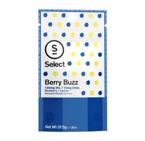 100mg Berry Buzz Gummies - SELECT BITES