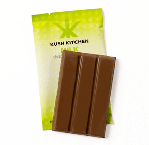 200mg Milk Chocolate Bar by Kush Kitchen