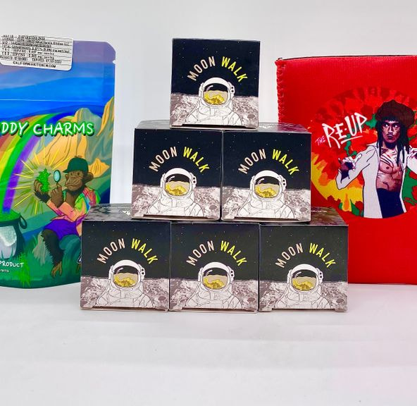 *Deal! $99 6g Mix n' Match Moon Juice Distillate - Moonwalk + Buddy Charms + Cozy (House Picks)