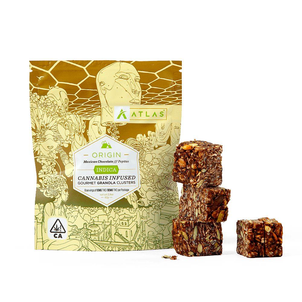 [Atlas] THC Granola Clusters - 80mg - Mexican Chocolate & Pepitas