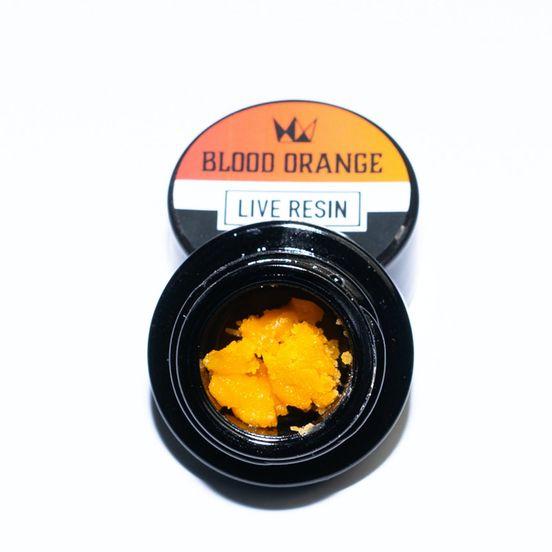 Blood Orange Live Resin Badder