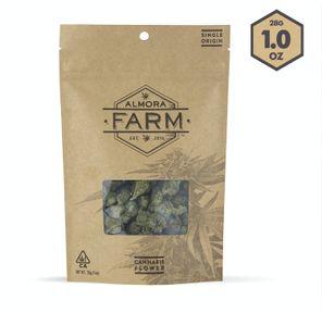 Almora Farm Sungrown 28g - Hindu Kush 27%