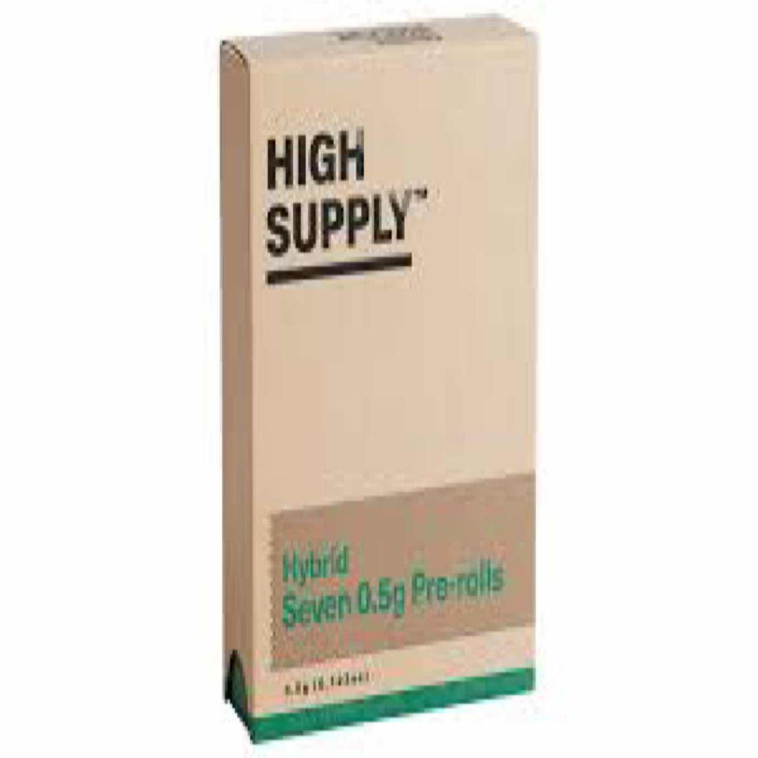 Hybrid - 7 pack preroll (THC 16%) by High Supply