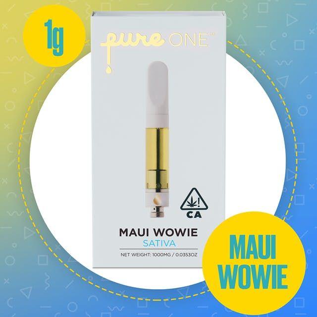 1g - Pure One, Sat, Maui Wowie