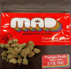 C. Papaya Punch 3.5g - MAD