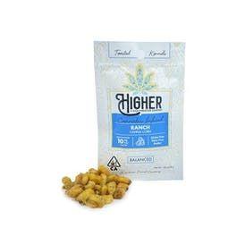 Higher Edibles - GF Ranch Canna-Corn Kernels 10mg Hybrid (Dairy-Free)