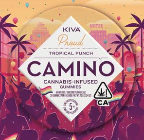 [Camino] THC Gummies - 100mg - Tropical Punch (PROMO)