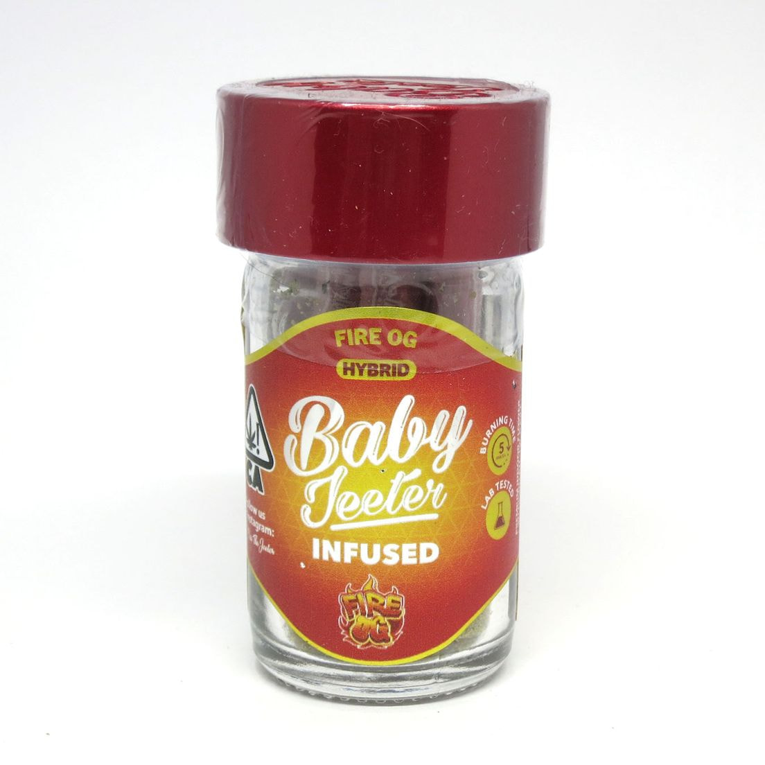 Baby Jeeter Infused - Fire OG