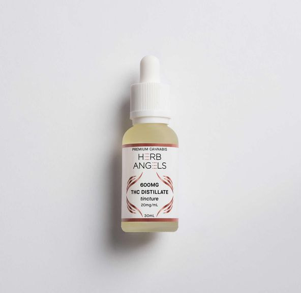 600mg THC Tincture - Herb Angels