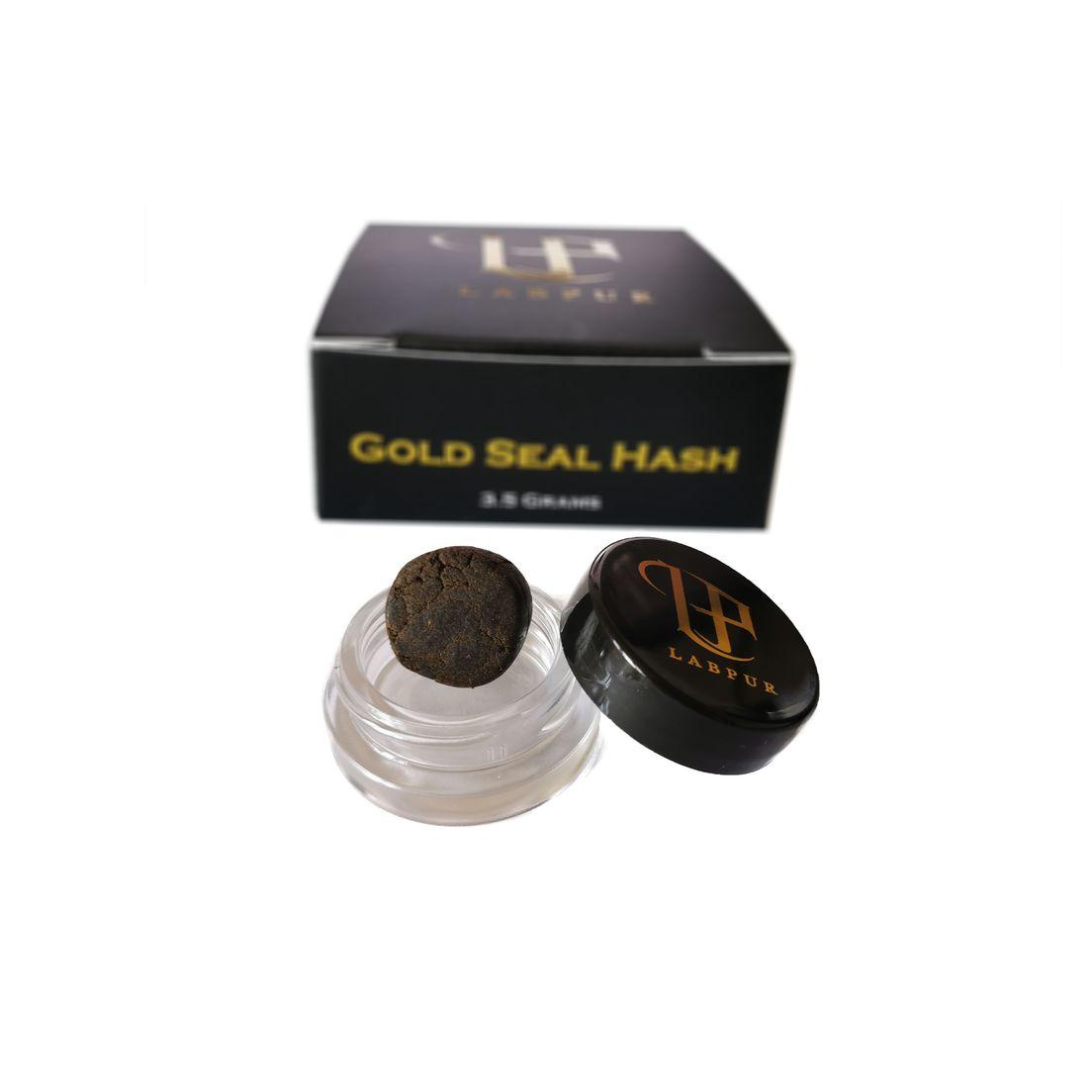 Gold Seal Hash - 3.5 Grams