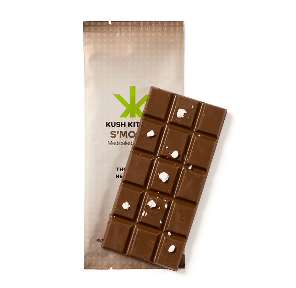 1000mg Smores Chocolate Bar by Kush Kitchen