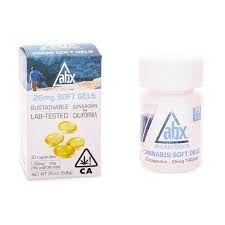 ABX Soft Gels 25mg THC (30 Capsules)