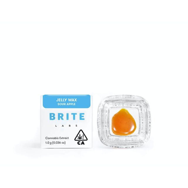 Brite Labs Sour Apple 1g Jelly Wax 76.8%