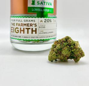 $50 4g 1/8 ECSD (20.42%/Sativa) - Lowell Herb Co.