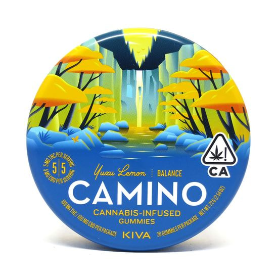 Camino Gummies 1:1 CBD Yuzu Lemon