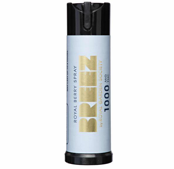 Breez - Royal Mint Spray 1,000mg THC