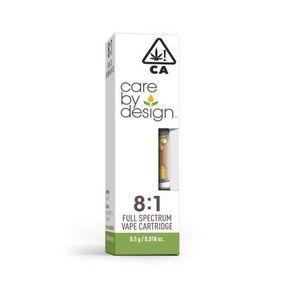 Care By Design 8:1 CBD Cartridge .5g