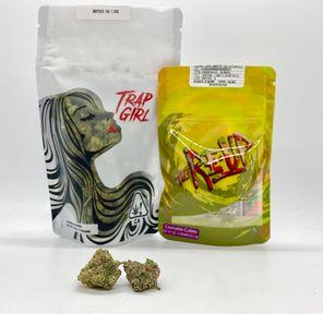 *Deal! $95 1/2 oz. Skittlez (Indoor/26.48%/Indica) - Trap Girl + Fruit Cubes *Disclaimer*