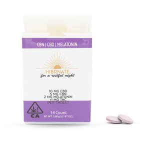 Hibernate CBN Tablets with Melatonin