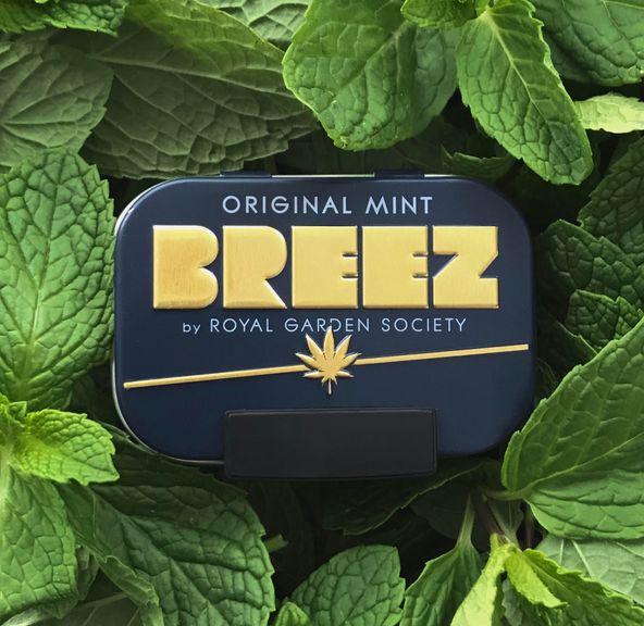 Breez Original Mint Tin (100mg)