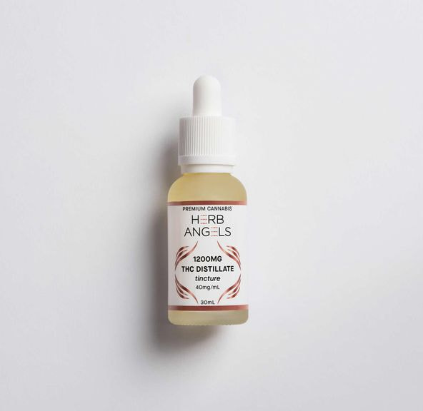 1200mg THC Tincture - Herb Angels