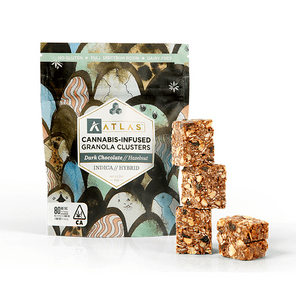 [Atlas] Granola Clusters - 80mg - Dark Chocolate & Hazelnut