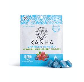 Kanha: Infused Gummies - Blue Raspberry (Hybrid), 100mg