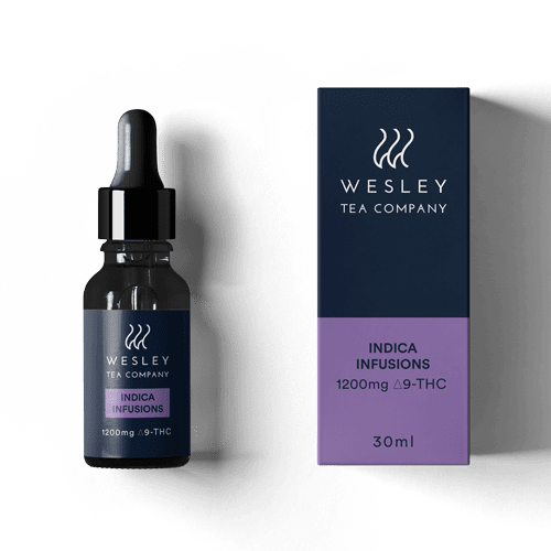 1200mg THC Indica Infusion by Wesley Tea