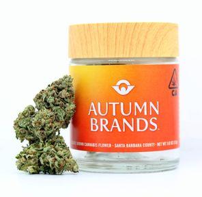 B. Autumn Brands 3.5g Flower - Strawberry Banana (~27% THC) (Quality 8/10)
