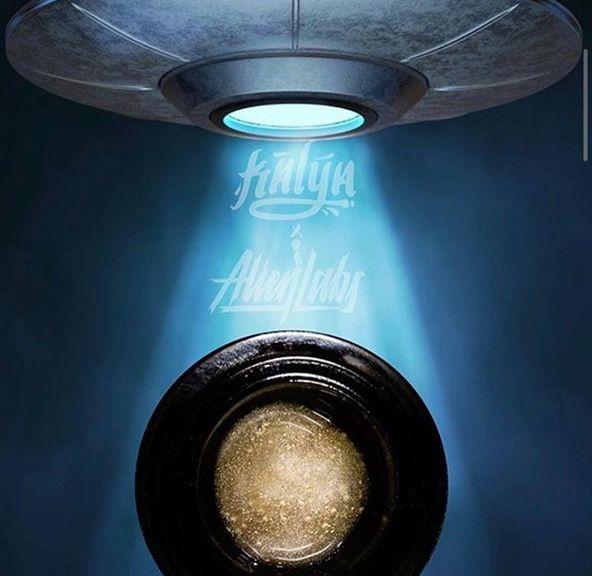 Conc Rosin - Kalya x Alien Labs - Gram - Sugar Cone + Biscotti