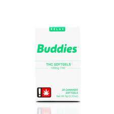 Buddies THC 100mg Capsule 10pc