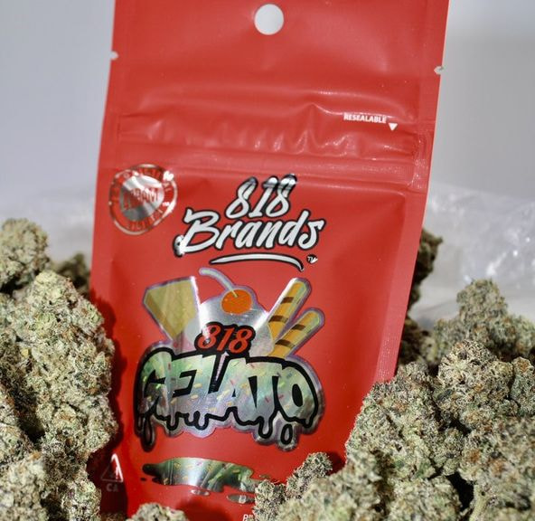 B. 818 Brands 4g Flower - Quality 10/10 - 818 Fritter (~24%)