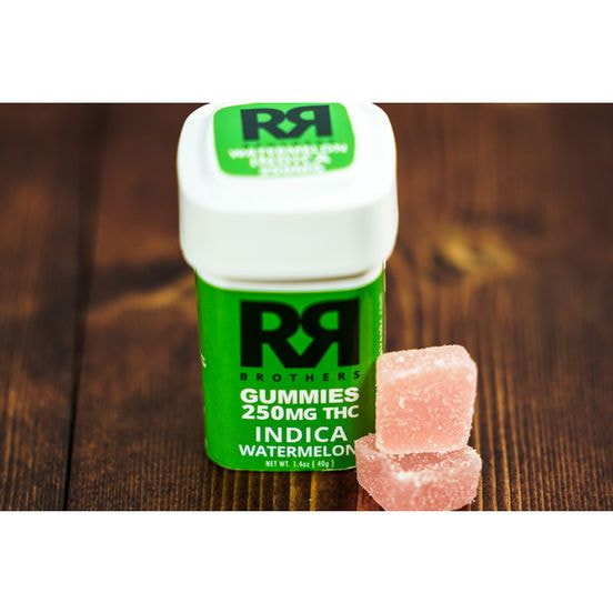 25mg Indica Gummies by R&R