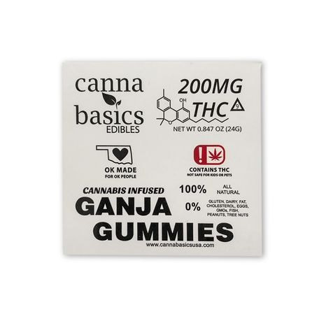200MG GANJA GUMMIES