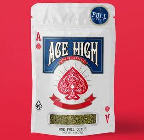 A. Ace High 28g Shake Flower - GMO (~18%)