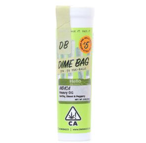 Dime Bag - Pre Roll Pack - Purple Punch 2.5g