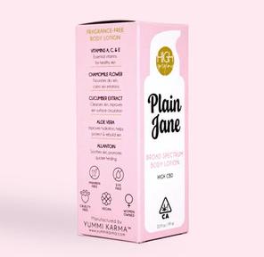High Gorgeous: Plain Jane - CBD Body Lotion, 300mg