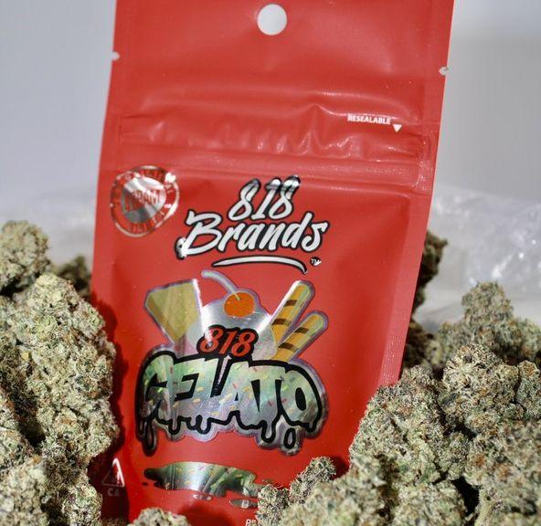 B. 818 Brands 4g Flower - Quality 10/10 - 818 Gelato (~29%)