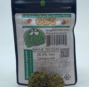 GSC (THC 25.3%) by Eighth Bros.