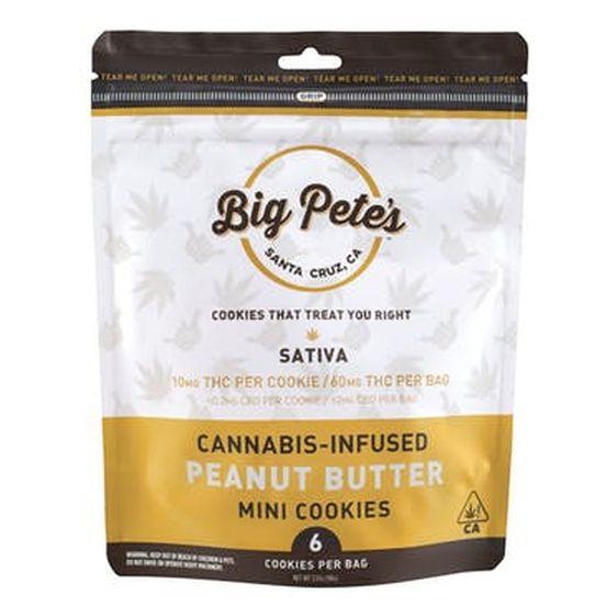 [Big Petes Treats] Cookies - 100mg - Peanut Butter (S)