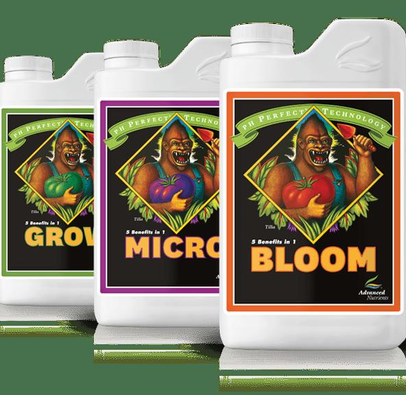Advanced Nutrients| 1L pH Perfect Micro | pH Perfect Grow, Micro, Bloom