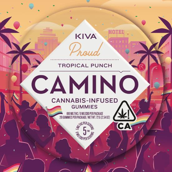 [Camino] Gummies - 100mg - Tropical Punch (PROMO)