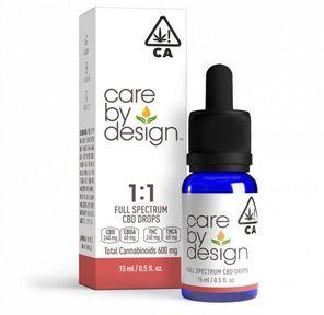 Care By Design 1:1 CBD Oral Drops 15ml