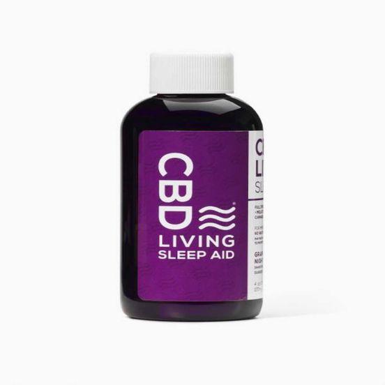 CBD Living Full Spectrum Sleep Aid (120mg) - Grape