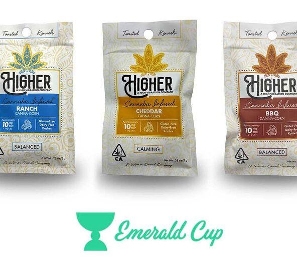Higher Edibles - GF BBQ Canna-Corn Kernels 10mg Hybrid (Dairy-Free)