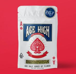A. Ace High 14g Shake Flower - Iced Lemonade (~21%)