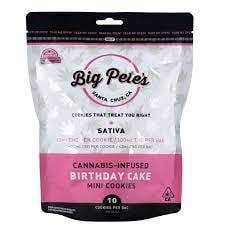 [Big Petes Treats] Cookies - 100mg - Birthday Cake (S)