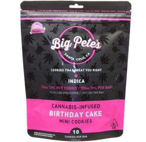 [Big Petes Treats] Cookies - 100mg - Birthday Cake (I)