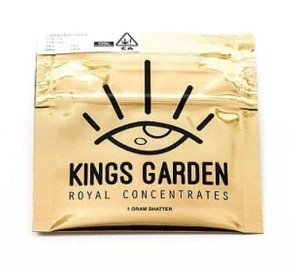 Kings Garden Jack/Banana Live Shatter (1g)